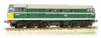 Graham Farish 371-111 Class 31 D5596 BR Green Small Yellow Ends